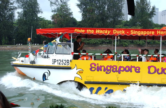 ‪Singapore DUCKtours‬