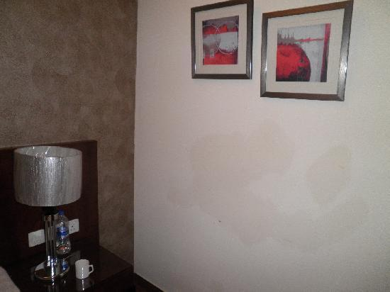 Alpina Hotels & Suites: Mur mal peint