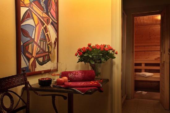 Appia Hotel Residences: Sauna