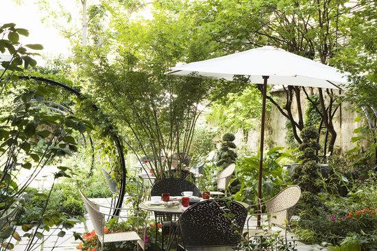 Hotel Regent's Garden: Jardin