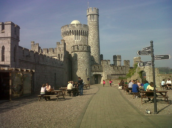 The Castle Cafe: inside the walls