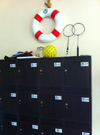 Monkey Samui Hostel: free lockers