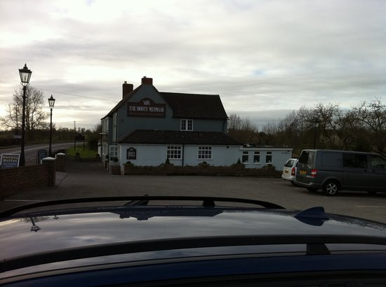 The Snooty Mehmaan: View from the car park