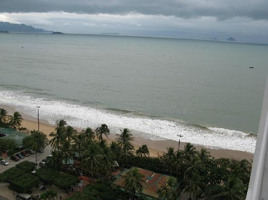 Nha Trang Lodge: sea view from 11 floor