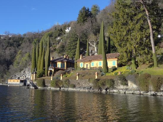 Barindelli Taxi Boats: Villa de Richard Branson