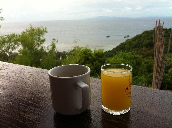 Ko Tao Resort - Paradise Zone: Breakfast view