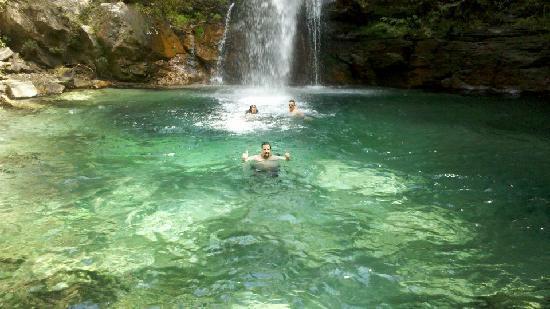 Pousada Sol da Chapada: Cachoeira de Santa Bárbara
