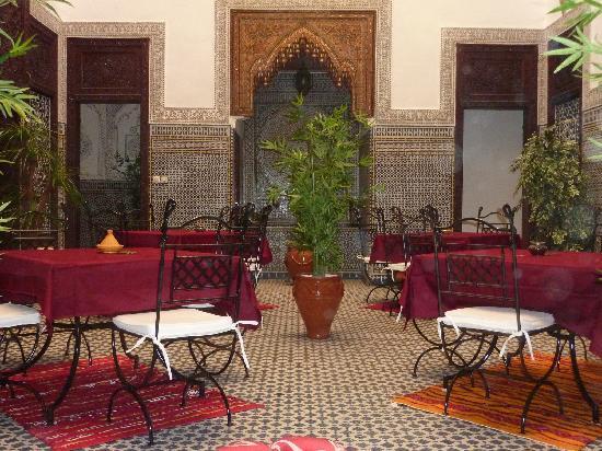 Riad Youssef: le patio