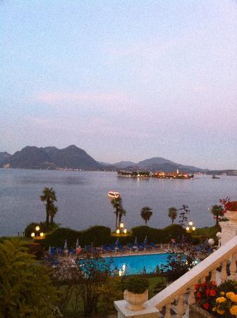 Lido Palace Hotel: ホテルレストランからの眺め