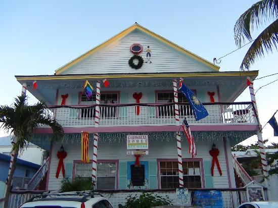 Caribbean House: front house