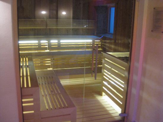 Hotel Florian: die neue Sauna