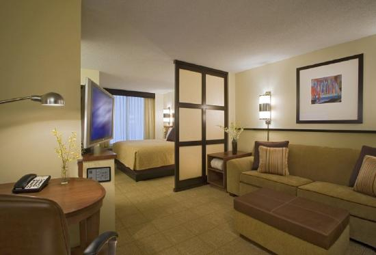 Hyatt Place Atlanta/Alpharetta/North Point Mall: Hyatt Place King Guestroom