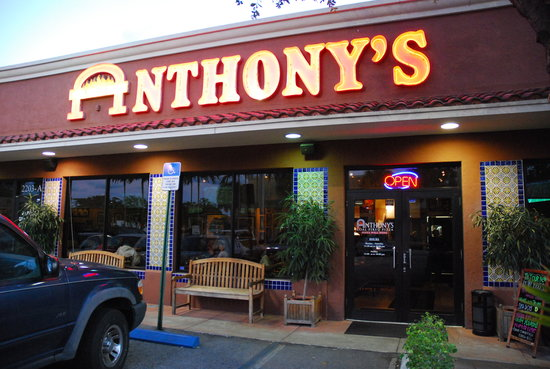 Anthony S Coal Fired Pizza Fort Lauderdale 2203 S