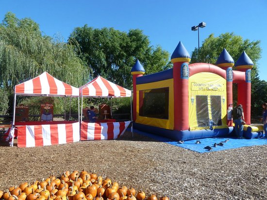 Country Fair Entertainment Park: Carnival Booths and Moon Bounce: Some of the many spectacular things available to enhance events