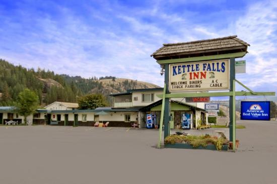 Best Value Inn Kettle Falls: Exterior With Sign