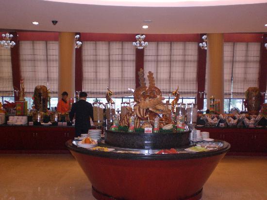 Ramada Plaza Chongqing West : salone del breakfast