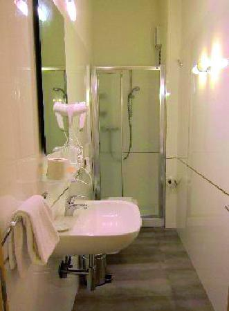 Bed and Breakfast Camollia: private bathroom and shower