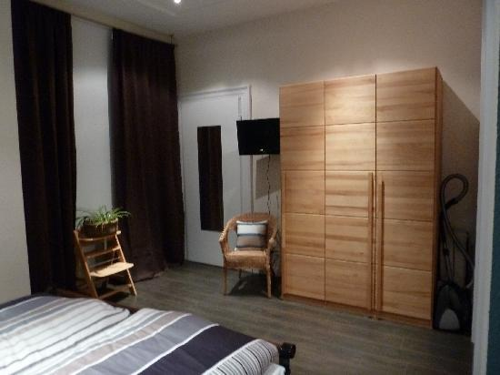 Ferienwohnungen an der Kaiserpfalz: slaapkamer