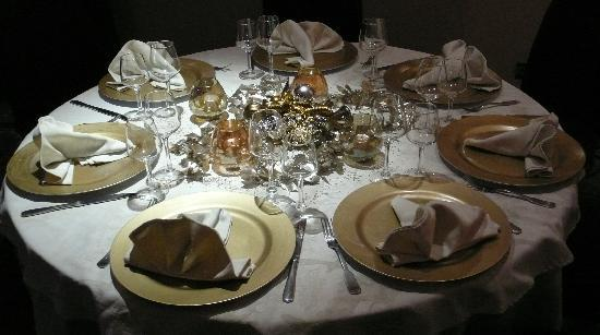 Restaurant Le Loft: Table au Loft
