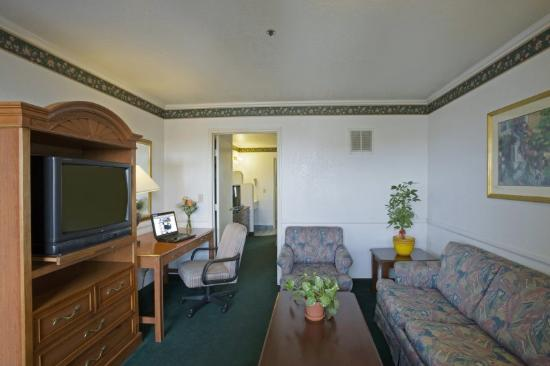 Budget Inn & Suites: Living Room