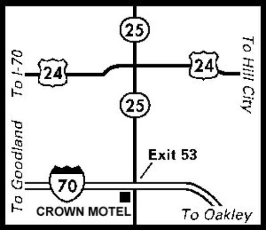 American Inn Colby: Regional Map