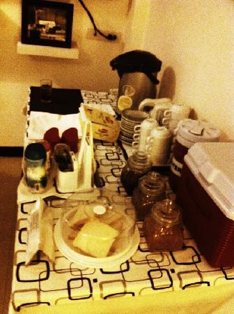 Prince House : spread provided for hotel guests
