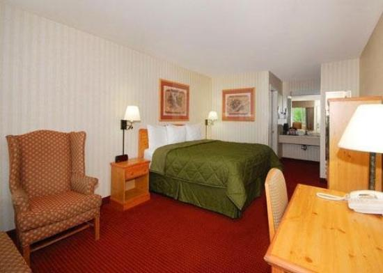 Comfort Inn Half Moon Bay: CABKingbed