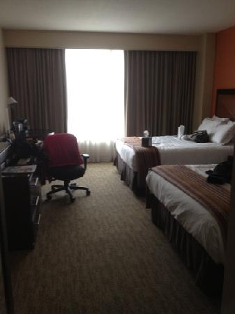 AT&T Hotel and Conference Center: spacious room