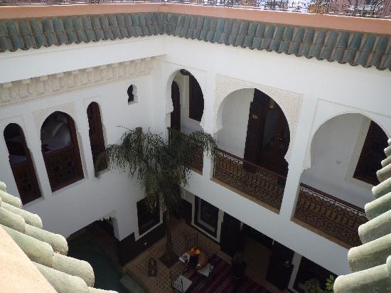 Riad Charme d'Orient: Le Riad sous un angle - en journée.