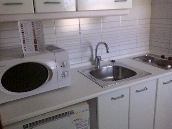Sercotel Togumar: Cocina del apartamento