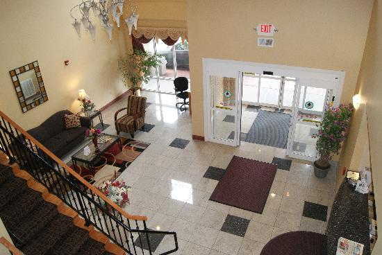 BEST WESTERN PLUS New Cumberland Inn & Suites: Lobby