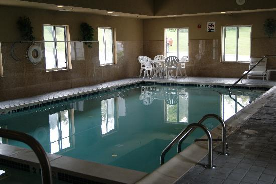 Best Western Plus New Cumberland Inn & Suites: Indoor Pool
