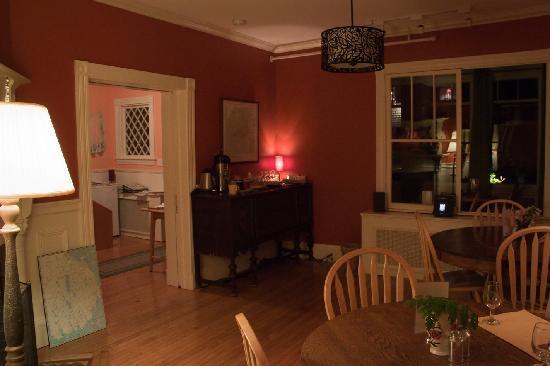 Acacia House Inn: Aufenthaltsbereich