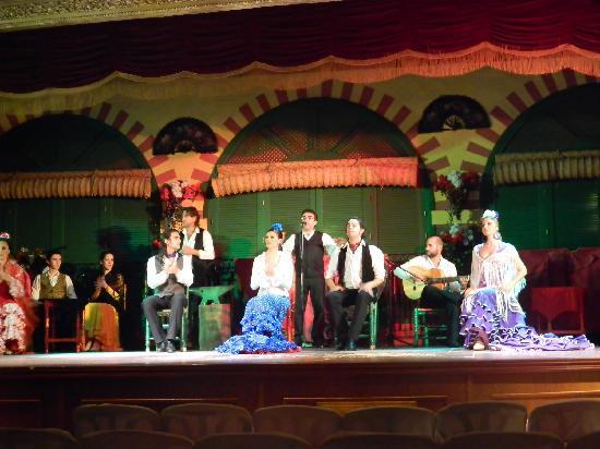 El Palacio Andaluz: Dança