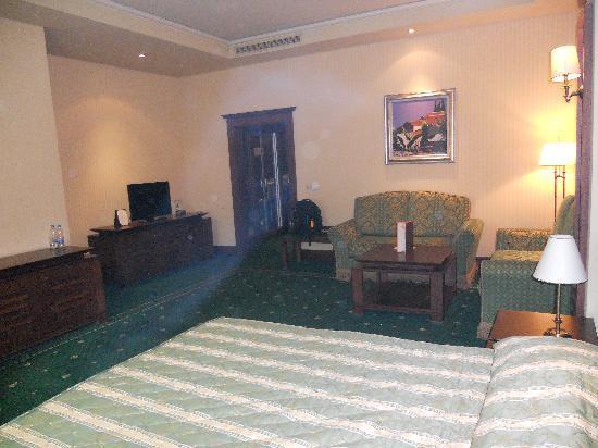 Grand Hotel Sofia: camera