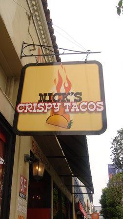 Nick's Crispy Taco's: TACO'S!!