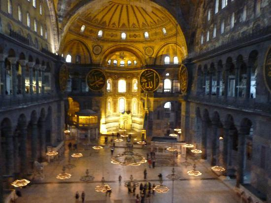 True Blue: Inside Hagia Sophia