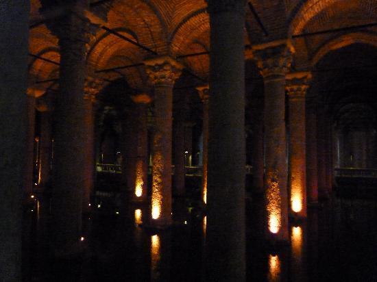 True Blue: Underground Basilica Cistern