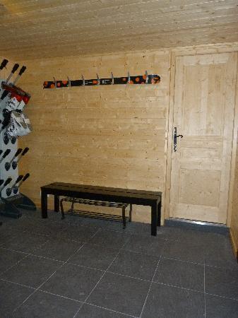 Chalet Tzigane: bootroom