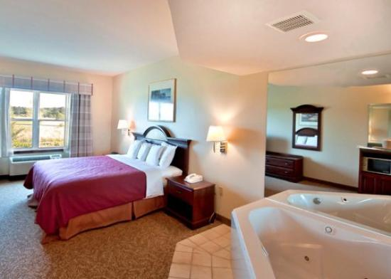 Econo Lodge Inn and Suites: King Jacuzzi