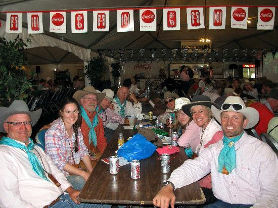 Reno Rodeo Cattle Drive: We made, note the dirty faces...