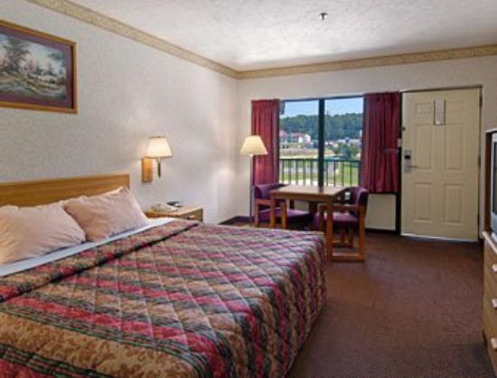 Americas Best Value Inn: Standard King Bed Room