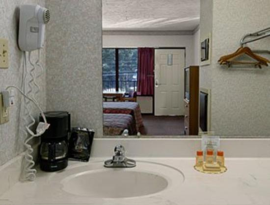 Americas Best Value Inn : Bathroom