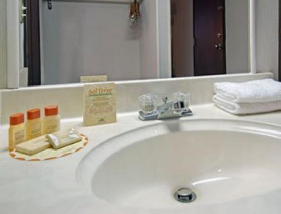 Days Inn Mt. Pleasant : Bathroom