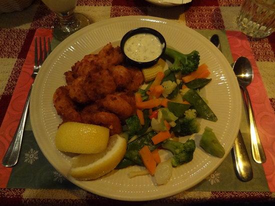 Roepke's Village Inn : cocanut shrimp