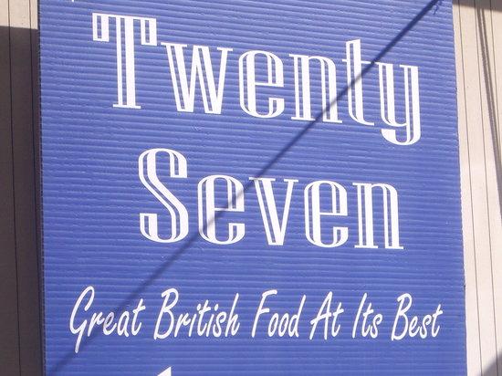 Bar Twenty Seven: 27