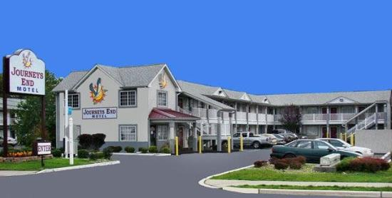 Journeys End Motel: Exterior View