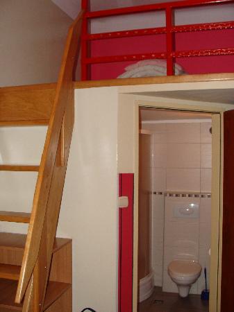 Kadetus Aparthotel: Mesanino do apartamento