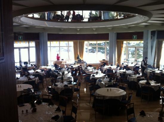 Rivisondoli, Italia: sala pranzo