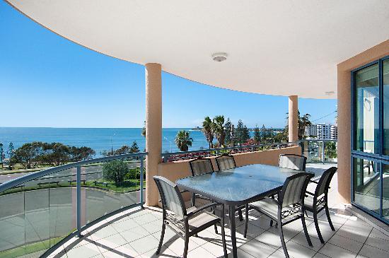 Alexandra on the Pacific: Balcony - 3 bedroom Luxury - Level 2